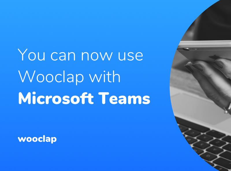 Microsoft Teams & Wooclap image
