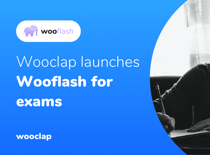 Wooclap launches Wooflash for exams