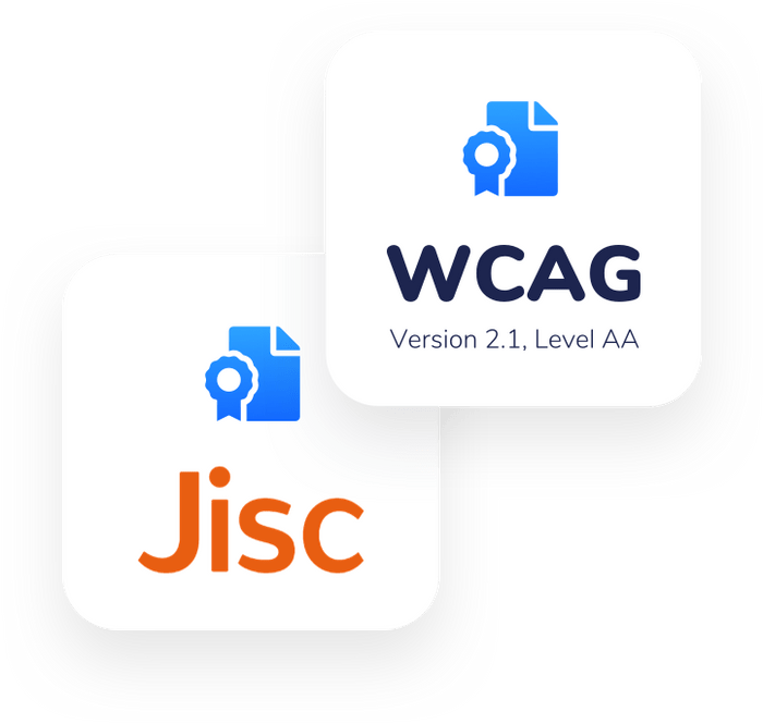 WCAG and JISC certification